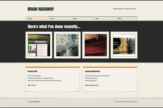 BrianHadaway.com - Full Size
